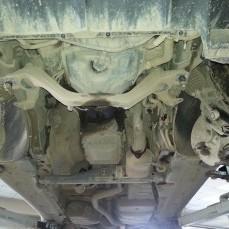Замена коренного сальника заднего на Porsche Cayenne