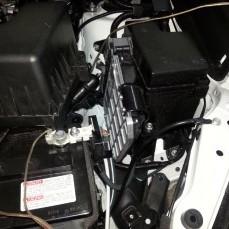 Установка замка Гарант iP на RAV-4